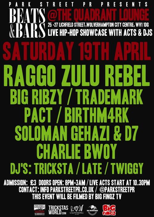 beats & bars poster 13
