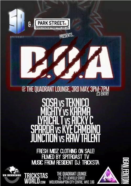 D.O.A 3RD MAY